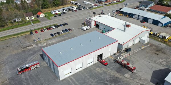 The new facility has 18 service bays and the size of its after-market parts department tripled.
