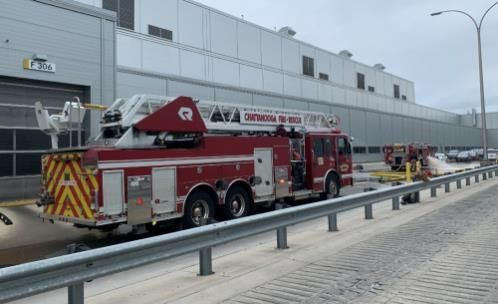 There were no serious injuries and the blaze was quickly extinguished at the Volkswagen plant. - https://www.chattanoogan.com/