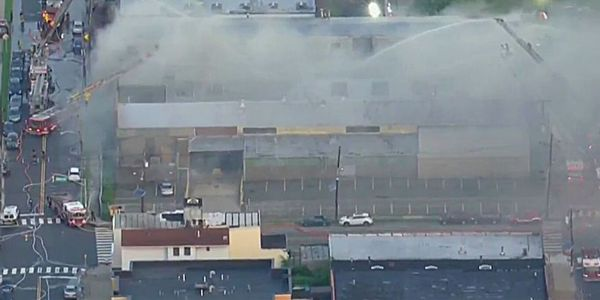 No injuries or evacuations were reported at the Jersey City, NJ, fire.