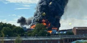 """Kidderminster Fire Described as """"Significant"""" Industrial Fire"""