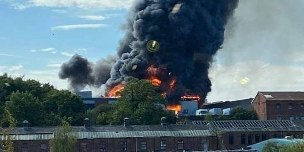 There were 100 firefighters at the scene and as of now there have been no casualties, reports BBC.