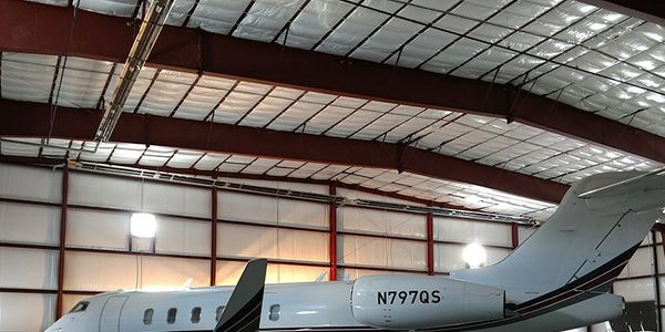 Safespill offers an environmentally friendly option for hangars at risk of liquid fuel fires