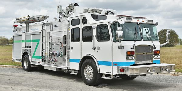 E-One 4x2 Custom Industrial Pumpers