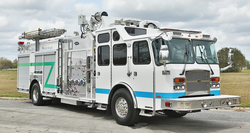 E-One Custom Industrial Pumpers