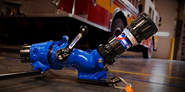 BLITZFIRE increases firefighter safety, deploys quickly and offers a low angle of attack.