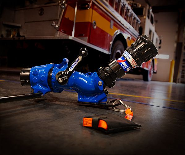 BLITZFIRE increases firefighter safety, deploys quickly and offers a low angle of attack. - TFT