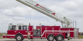 Smart Reach™ Multi-Stance™ Smeal®Ladder and Outrigger Control System