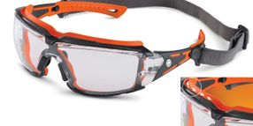 Brass Knuckle® Crusher Safety Goggles with Contoured Channels