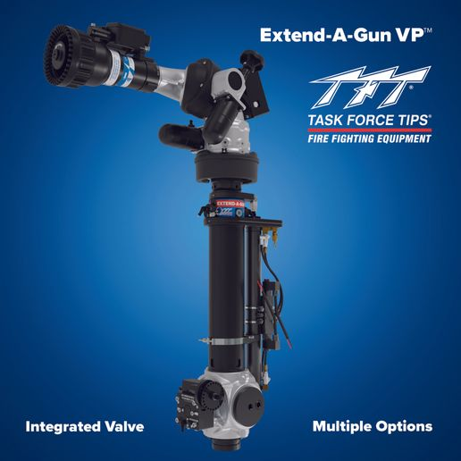 A simple interlock prevents flowing while extending and retracting the VP. - TFT