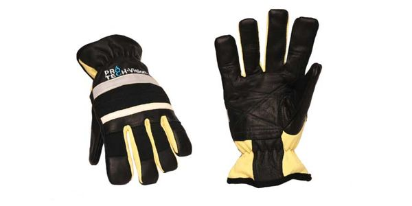The new Pro-Tech 8 Vision gloves glow in the dark.
