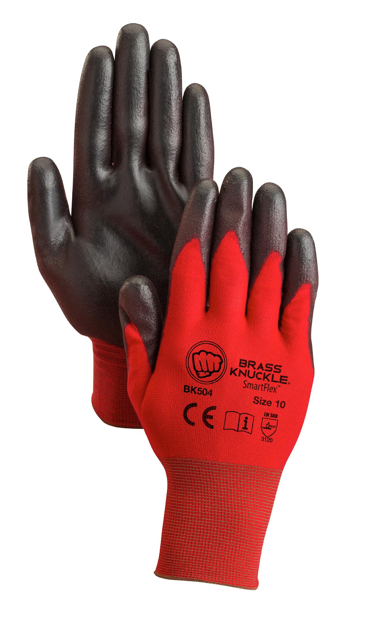Brass Knuckle®Red Warrior SmartFlex Gloves