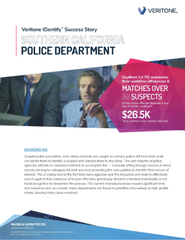 SoCal PD Automates Their Known Offender Database Resulting in $26.5K Savings.