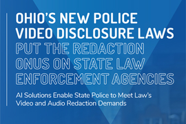 How AI Solutions Enable Police to Meet Video & Audio Redaction Demands