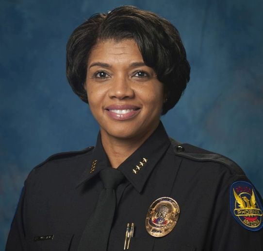 Chief Jeri L. Williams was appointed chief of the Phoenix Police Department in 2016. Photo: Phoenix Police Department  -