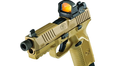 FN's latest firearms are the FN 509 Tactical and optics ready duty gun with threaded barrel and...