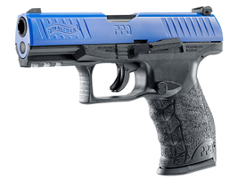 The T4E Walther PPQ M2 LE is a .43 caliber handgun that shoots three types of less-than-lethal...