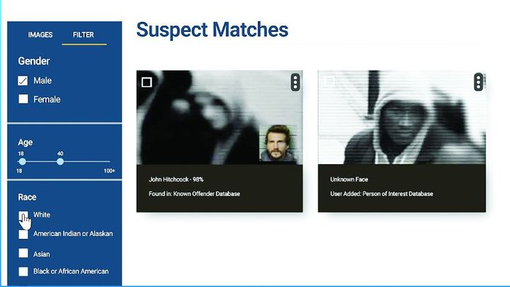 Veritone's IDentify lets agencies quickly compare their known offenders against crime scene footage.  - Photo: Veritone