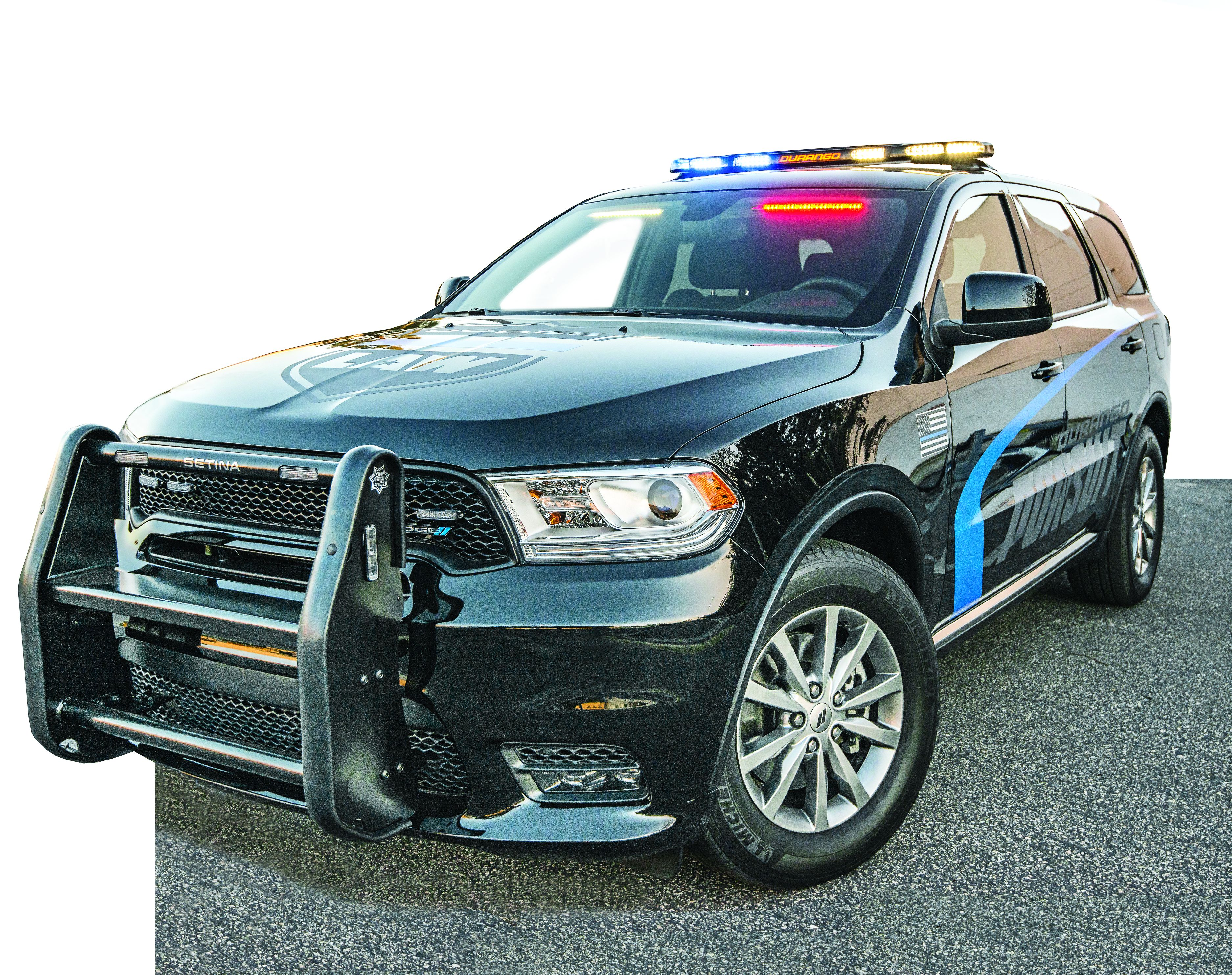 Driving the 2019 Dodge Durango Pursuit - Vehicle Ops ...