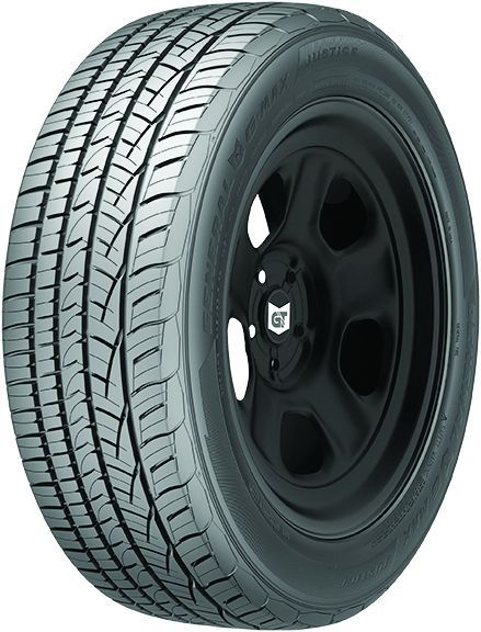General Tire's G-Max Justice features a durable build and technologies that offer precise...