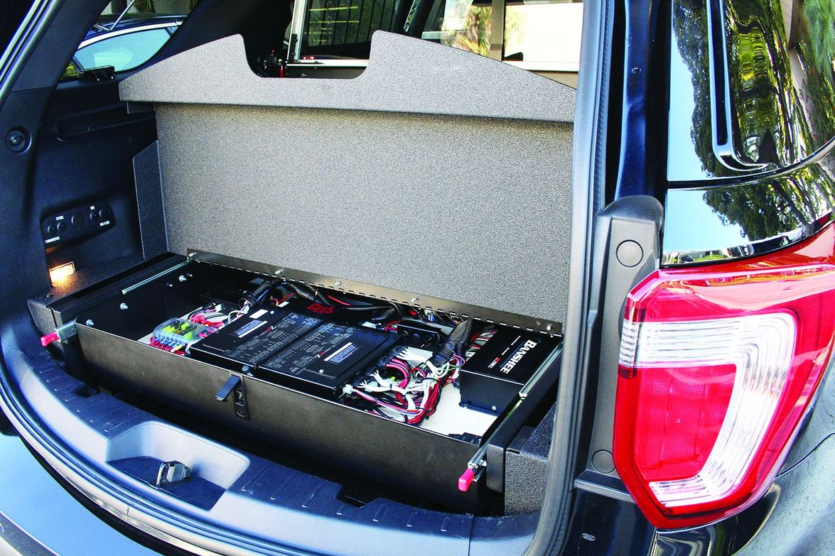 You can keep precious cargo and equipment safe and out of sight with the Public Safety False...