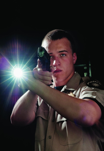 Test any flashlight by going through the motions of using it as you would on duty before you buy.  - Photo: Getty Images