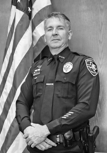 Chief Eric Kaiser of the Jourdanton (TX) Police Department  - Photo courtesy Eric Kaiser