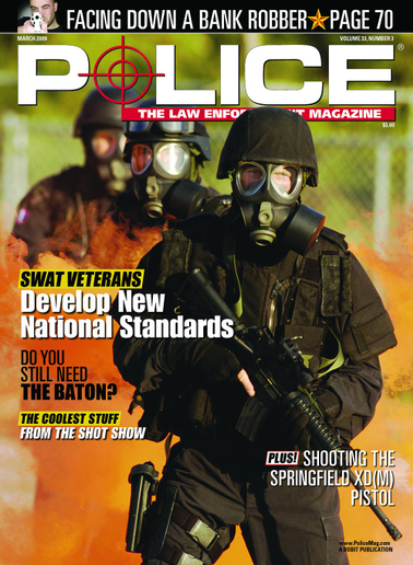 March 2009's cover story was on guidelines from the National Tactical Officers Association (NTOA).  - Image: POLICE Magazine