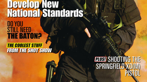 March 2009's cover story was on guidelines from the National Tactical Officers Association (NTOA).
