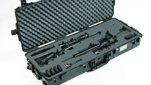 The Pelican Air 1745 Long Case is much lighter than even smaller Pelican cases, and it can fit...