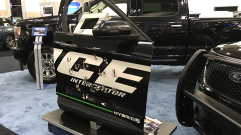 DEW Engineering makes Ford's in-the-door armor.