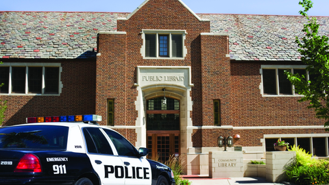 Like many examples in police work, the good people using the library need your protection from...
