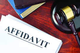 Affidavits: Just the Facts