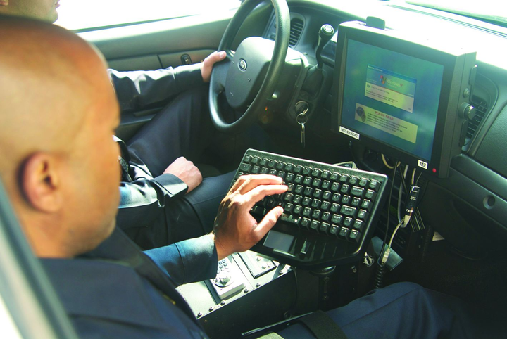 Computers in patrol vehicles have given officers a wealth of information that they cannot gain from their radio communications.
