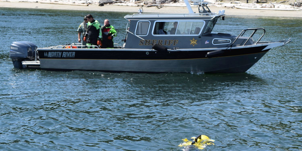 JW Fishers' ROVs can find evidence such as firearms or even bodies under water, protecting law...