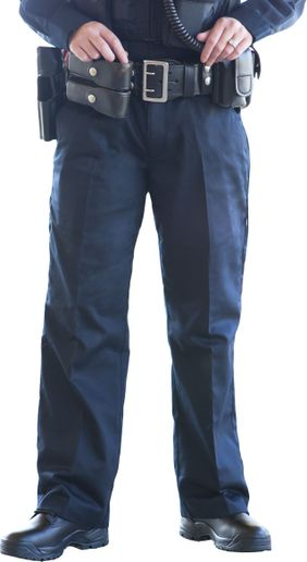 To solve the issue of female officers needing to remove their gear to use the bathroom, 5.11 Tactical developed the Women's PDU Go Pant with a zippered drop tail.   - Photo: 5.11 Tactical