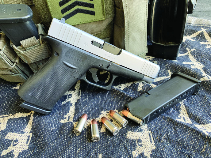 The new Glock G48 is a 9mm compact designed to be a concealed carry or off-duty pistol.  - Photo: A.J. George