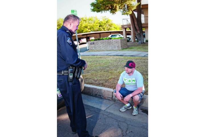 Once the citizen's liberty is restrained or we prevent the citizen from walking away, we need reasonable suspicion that a crime is or has been committed.  - Photo: POLICE File