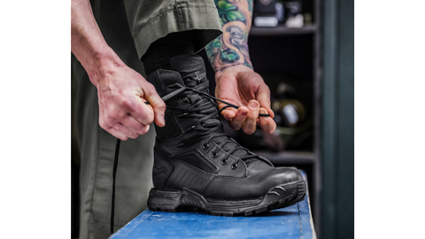 The new Danner Striker Bolt boots are available in 4.5-inch, 6-inch, and 8-inch models with a...