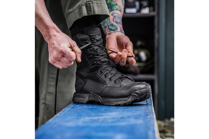 The new Danner Striker Bolt boots are available in 4.5-inch, 6-inch, and 8-inch models with a sidezip option on the latter.