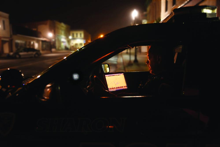 Viewing a bright computer screen can cause night blindness. An Orion Over-the-Screen Filter prevents this problem.  - Photo: Spectrum Technologies
