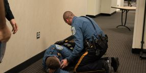 Training in Active Shooter Response Gear