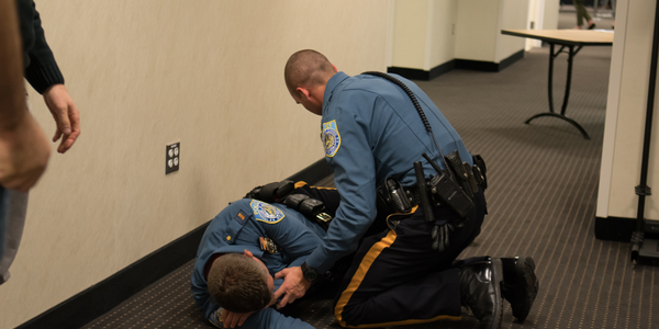 Officers training to respond to active shooters need to have experience performing first aid...
