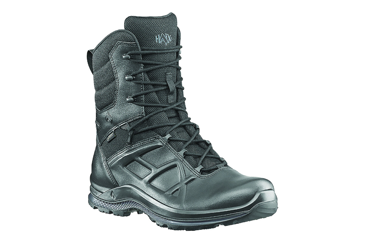 There is a balance between sole compound hardness and slip resistance in patrol boots that is very similar to tire manufacture.