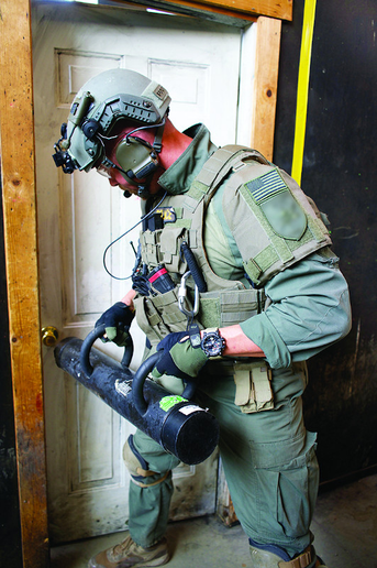 """SWAT should be used for high-risk warrants and drug warrants because drugs and guns go together."" —Robert McLaughlin, president, NCTOA  - Photo: Franklin Rau/https://fsrau.smugmug.com"