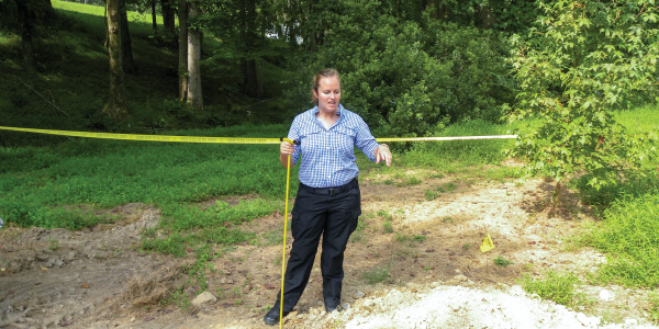 Forensic anthropologist Dr. Meredith Tise from the Pinellas County (FL) Sheriff's Office...