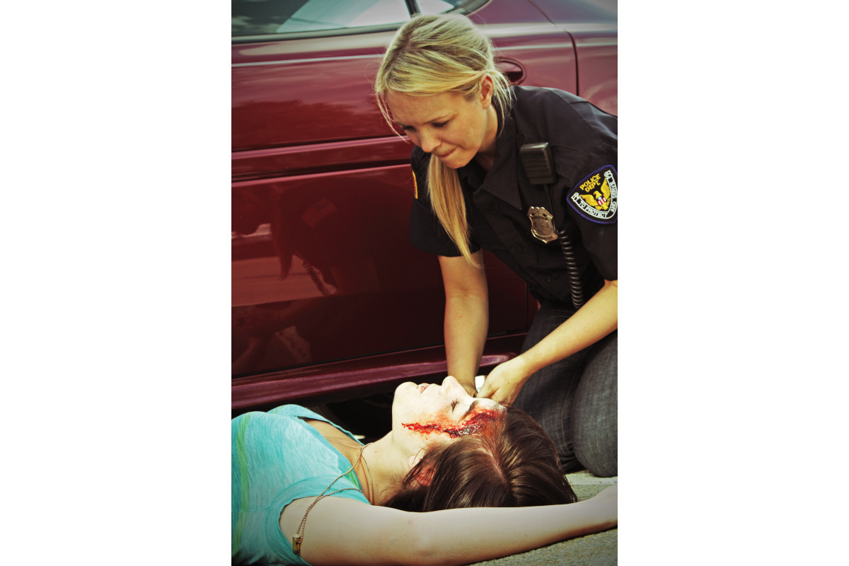 Officers often offer soothing words to critically injured victims telling them they're going to make it when they know they're most likely breathing their last breaths.