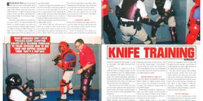 Looking Back: Knife Training and Handgun Lasers