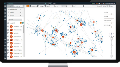 Cobwebs Technologies' Tangles tool searches the deep, dark web to identify and find links...