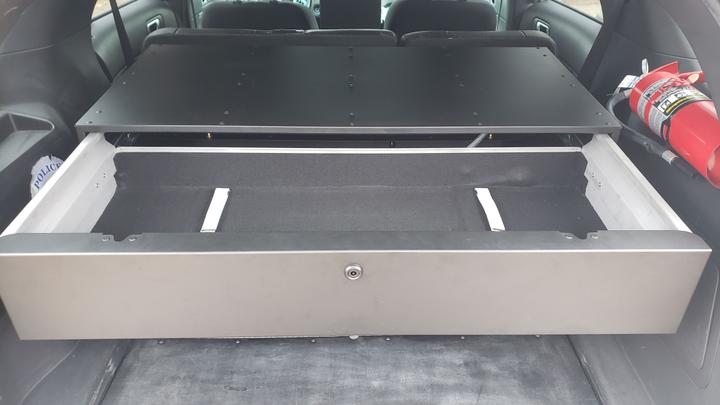 Estes AWS's latest product is the SUV Rapid Access Weapon Locker 2.0.  - Photo: Estes AWS