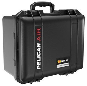 "The Pelican 1507 Air Case has an interior measuring 15.15"" x 11.38"" x 8.52"" and was developed to serve as the smallest size in the ""deeper case"" part of the Pelican Air case line.  - Photo: Pelican"